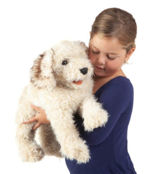 Folkmanis Labradoodle Puppet