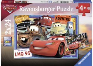 Ravensburger Disney 2 Cars Puzzle 2x24pc