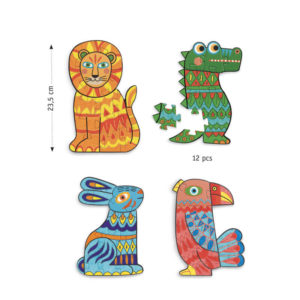 Djeco DJ07946 Do It Yourself Coloring Puzzles