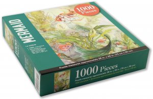 Peter Pauper Press Mermaid Puzzle 1000pcs