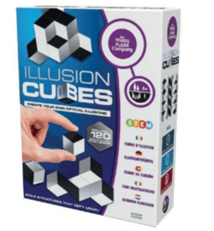 Illusion Cubes The Happy Puzzle Company