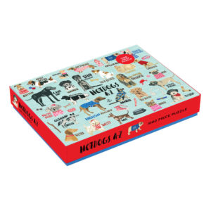 Hot Dogs A To Z Jigsaw Puzzle 1000pc