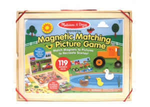 M&D Magnetic Matching Picture game