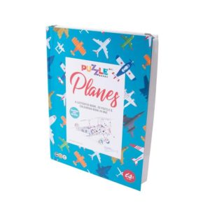 IS GIFT Planes Puzzle Book
