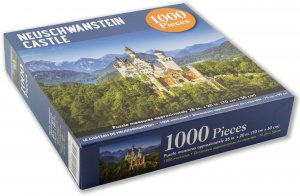 Peter Pauper Press Neuschwanstein Castle Puzzle 1000pcs