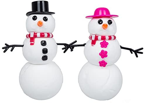 Floof Mr & Mrs Snowman 120g (with 22 Accessories)