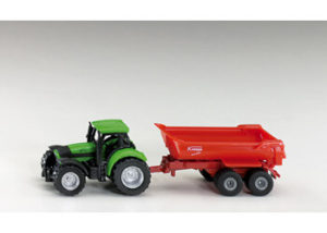 Siku 1632 Tractor with Tipping Trailer 1:87 Scale