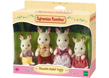 SF 4150 Chocolate Rabbit Family