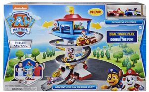 Paw Patrol Adventure Bay Speedway True Metal Playset