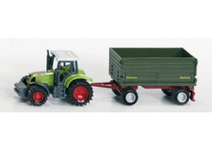 Siku 1634 Tractor with 2 Axled Trailer