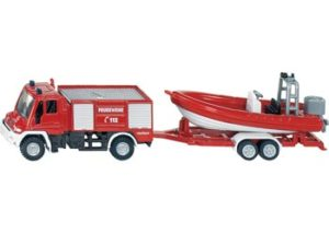 Siku 1636 Fire Engine With Boat