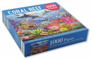 Peter Pauper Press Coral Reef Puzzle 1000pcs