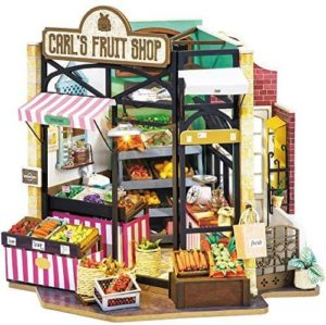 Diy Miniature Happy Corner Carls Fruit Shop Rolife