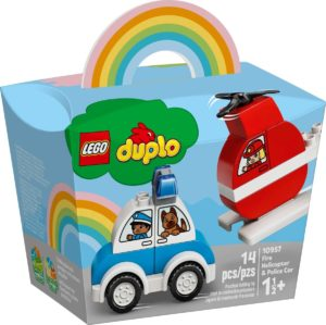 LEGO Duplo 10957 Fire Helicopter & Police Car