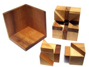 Try Hard Wooden Puzzle