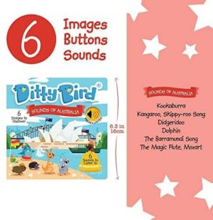 Ditty Bird Sounds of Australia Book