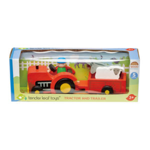 Tender Leaf Toys Tractor and Trailer