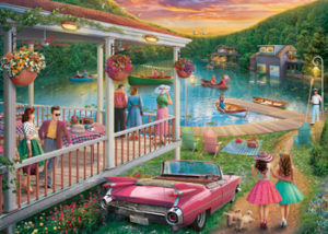 Ravensburger Summer at the Lake 300pc Large Format Puzzle