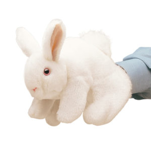 Folkmanis White Bunny Puppet