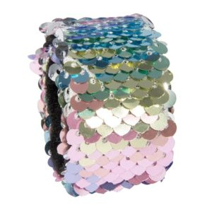Reversible Sequin Slap Bands
