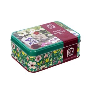 Gift In A Tin Flower Press Set