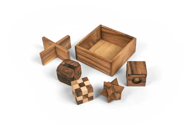 Planet Finska 5 Puzzles in 1 Tricky Box