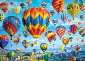 Peter Pauper Press Balloons In Flight Puzzle 1000pc