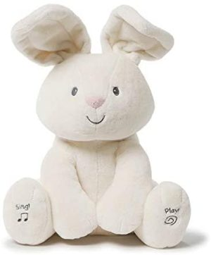Gund Flora the Animated Bunny Plush